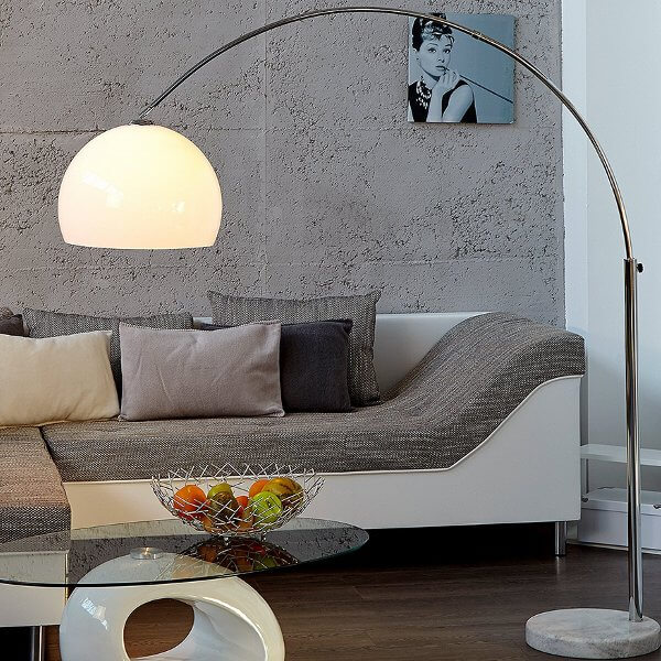 Design Bogenlampe LOUNGE DEAL