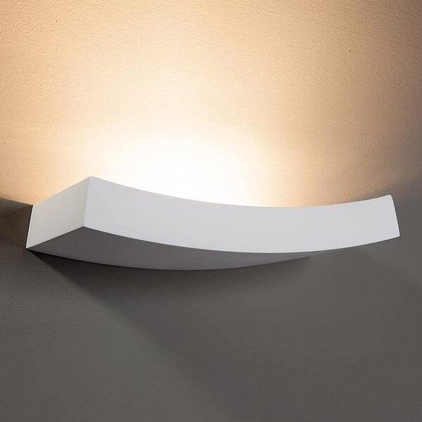 wandlampe Gips
