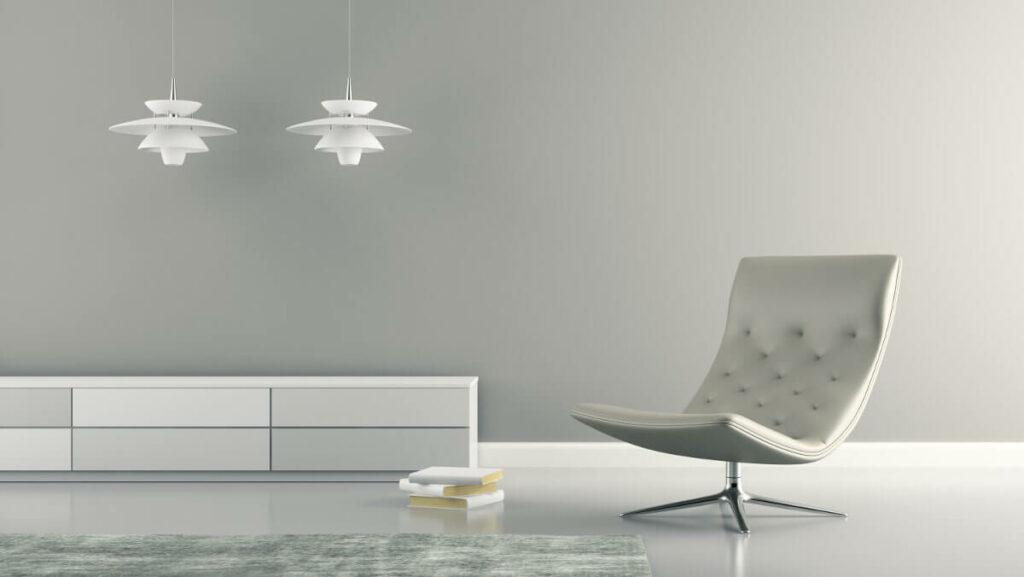 Warum wird Milchglas häufig für Decken- oder Wandlampen verwendet?