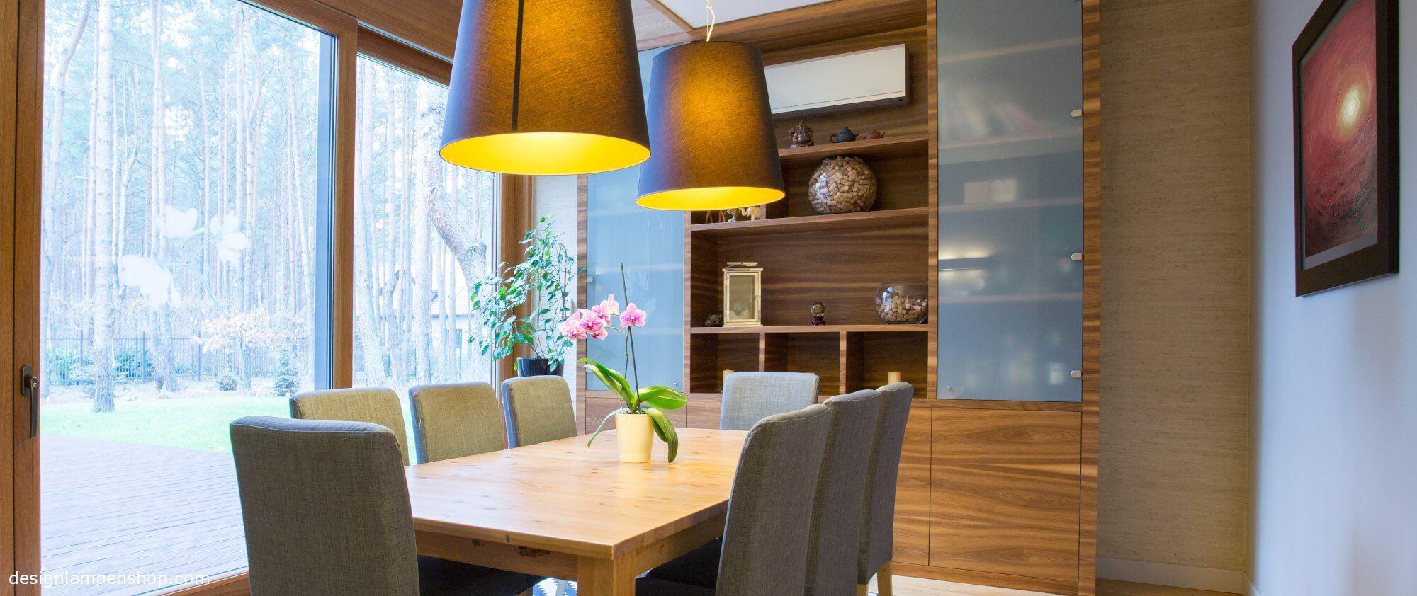 Design Deckenlampe in Esstimmer