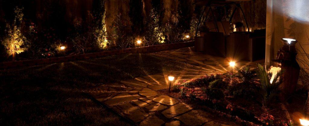 Gartenlampen setzen Akzente im Garten