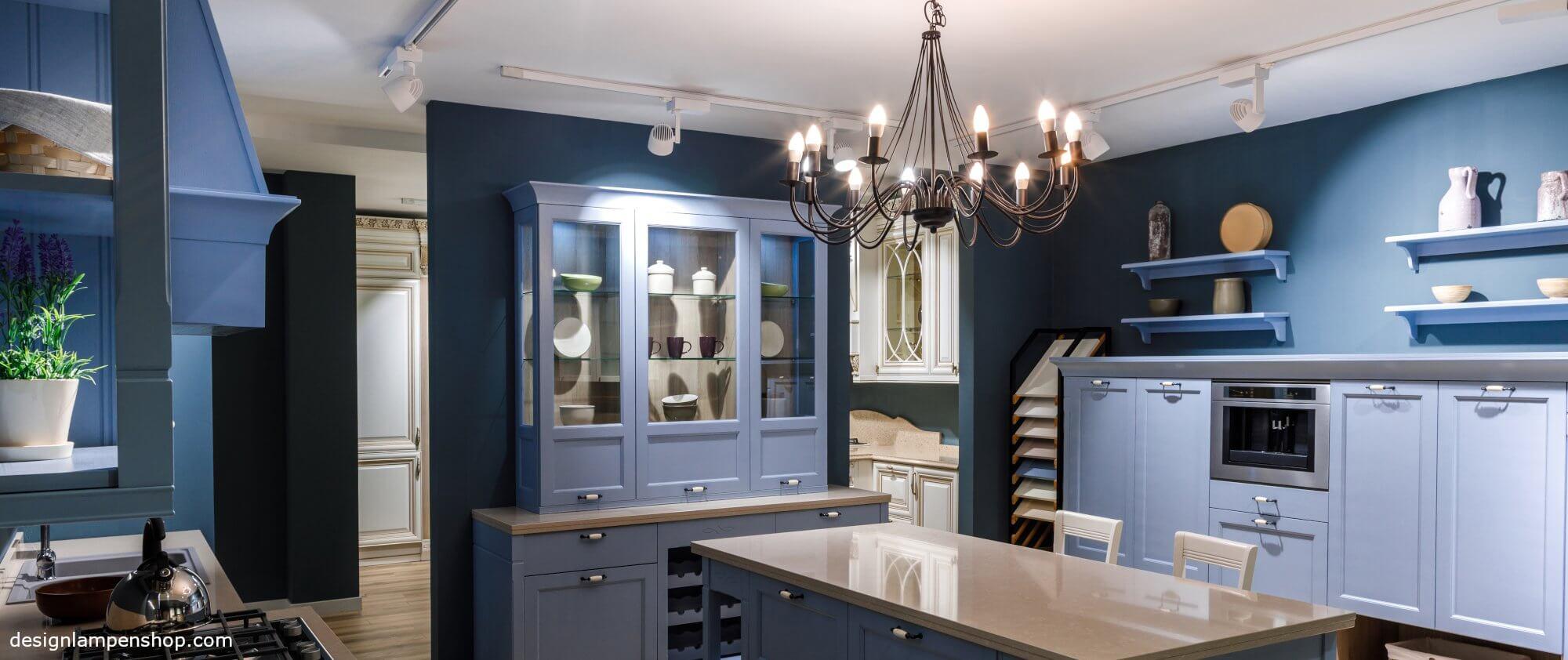 Kronleuchter in der Küche - neues Design