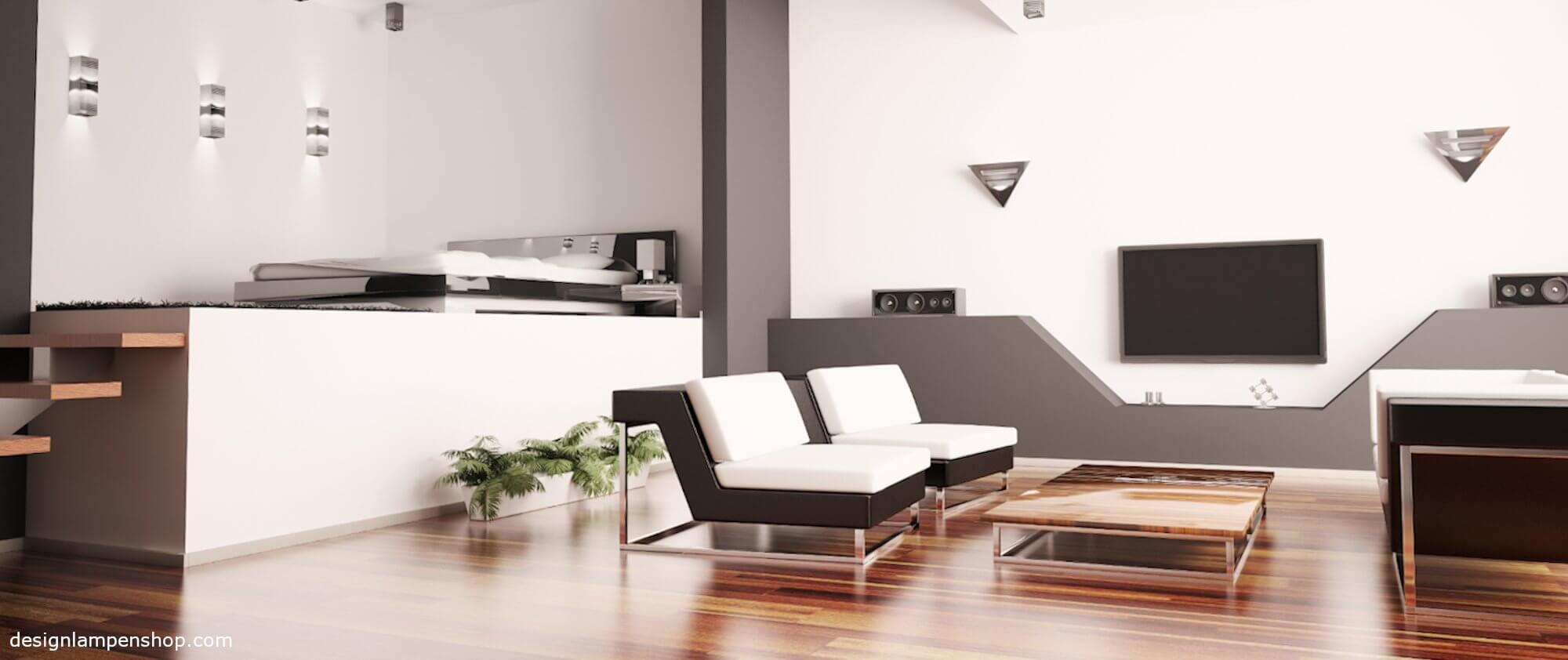 Die Wohnzimmerlampe: Deckenlampe oder Stehlampe